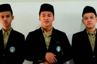 Tiga santri yang meraih prestasi di Unibraw, Malang