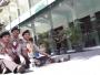 Prestasi madrasah dipersembakan oleh anggota Pramuka MA NU TBS Kudus